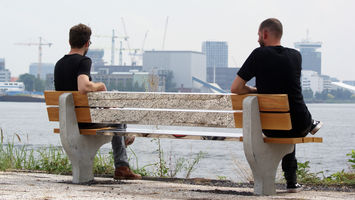 A bench for socially distant city living