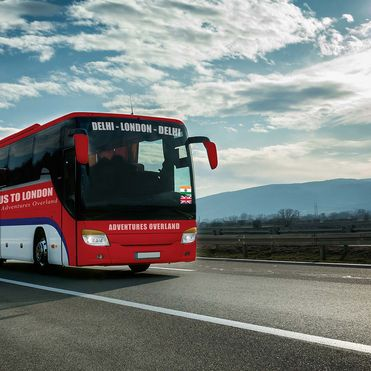 The world's longest bus connects London and Delhi