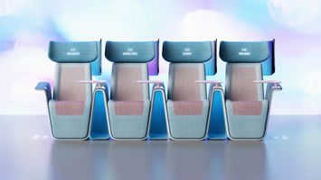 Hygienic cinema seating for inter-Covid screenings