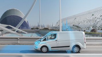Ford vans that automatically cut urban pollution