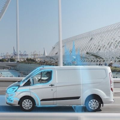 Transit Custom Plug-in Hybrid Electric Vehicle (PHEV) by Ford, Germany