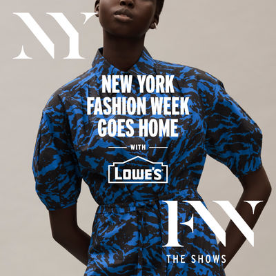 Lowe's n NYFW by Jason Wu, Rebecca Minkoff and Christian Siriano, US