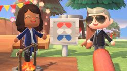 The US presidential campaign enters Animal Crossing