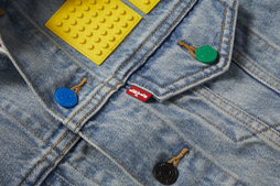 501 # Lego Diamond Transparent Yellow 5 Piece