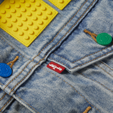 Levi's and Lego tap into DIY fashion