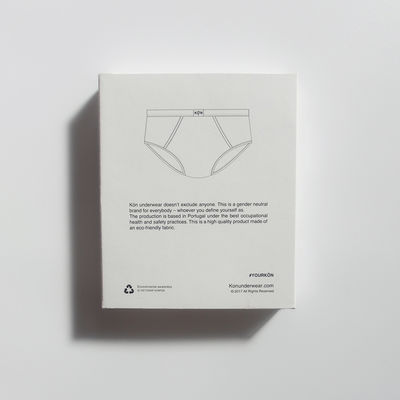 Gender-neutral underwear by Kön, Sweden