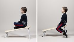 Active Classroom seating encourages children to move