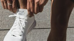 Hylo's minimal branding links sport and sustainability