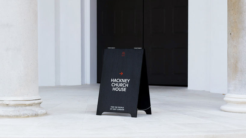 Hackney Church rebranding by Omse, London