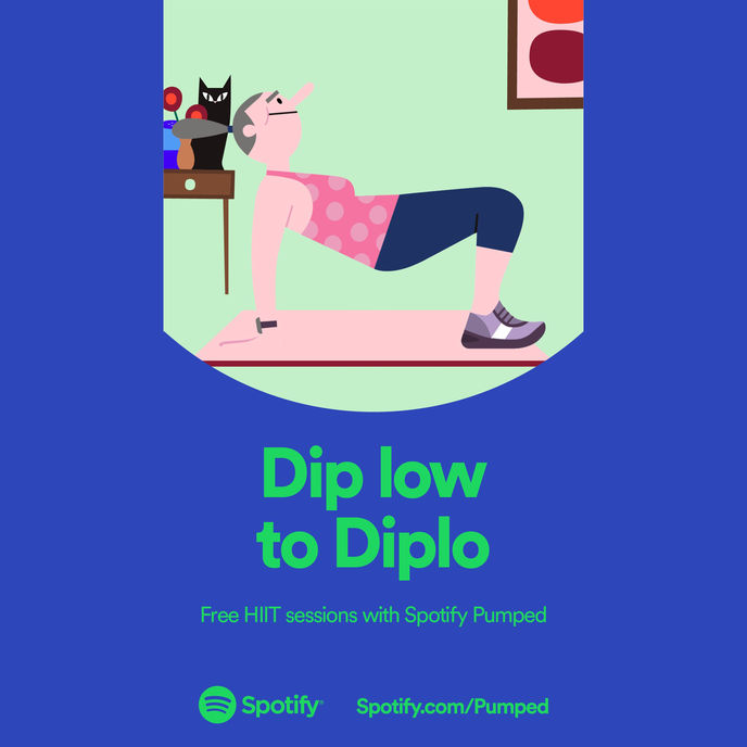 Spotify Pumped, Global