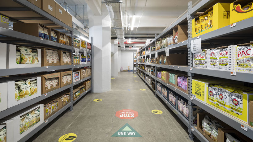 Online-only store by Amazon and Whole Foods Market, New York