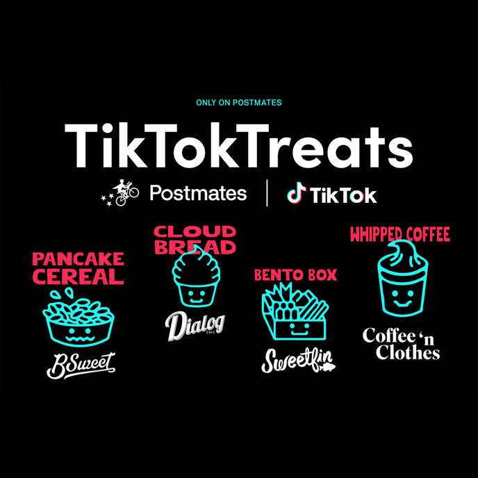 TikTok Treats by Postmates in collaboration with TikTok, US