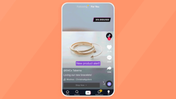 TikTok buys into commerce with Shopify partnership