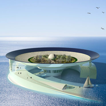 This mobile eco-hub imagines civilisation at sea