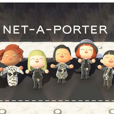 Net-a-Porter launches luxury island on Animal Crossing