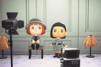 Net-a-Porter and Animal Crossing: New Horizons
