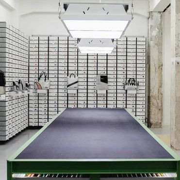 Freitag's inside-out, DIY retail destination