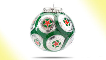 Heineken's festive packaging hacks for DIY minds