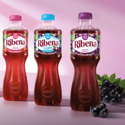 Ribena rebranding by Seymourpowell, UK