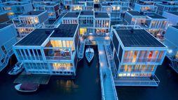 Waterbuurt is Amsterdam's floating housing district