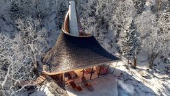 Yezo is a nature retreat built using algorithms