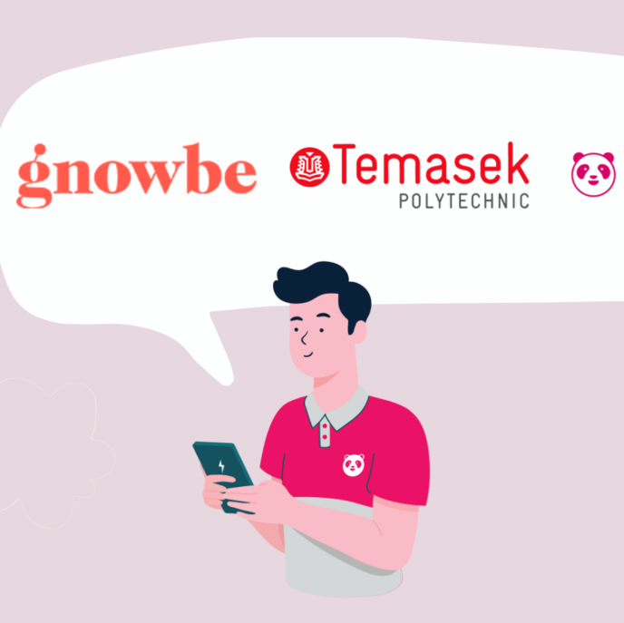 Foodpanda in partnership with Gnowbe & Temasek Polytechnic