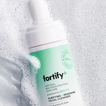 Fortify+'s sanitised skincare protects against bacteria