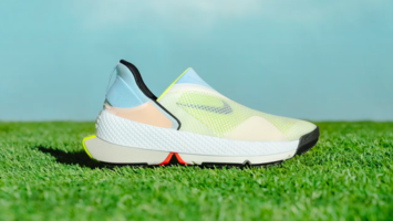 Nike's hinged trainers let wearers go hands-free