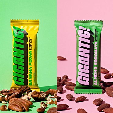 Bold branding for tempting healthy treats