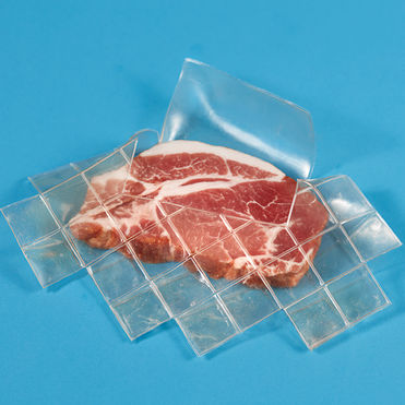Biodegradable packaging made from animal skin