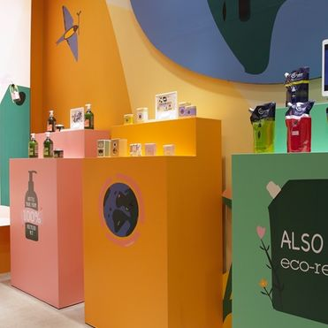 L'Occitane's Hong Kong flagship store fights plastic waste