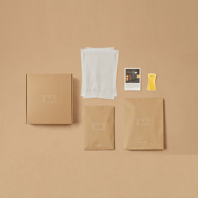 Packaging by Asket, Stockholm
