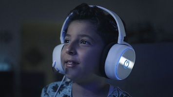 A gaming headset that safeguards young players