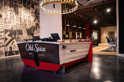 Old Spice barbers, US