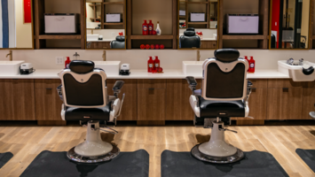 This barber shop doubles as a content studio