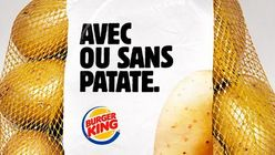 Burger King gifts surplus potatoes to customers
