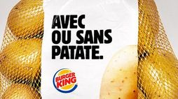 Burger King gives surplus potatoes to customers