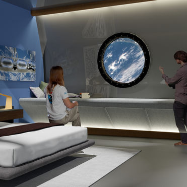 This orbital hotel makes space tourism a reality