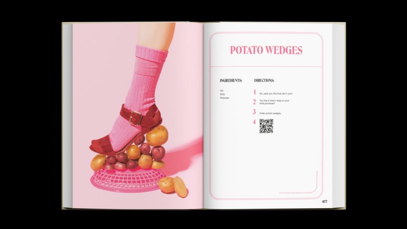 Postmates Don't Cookbook images by Lizzie Darden, US