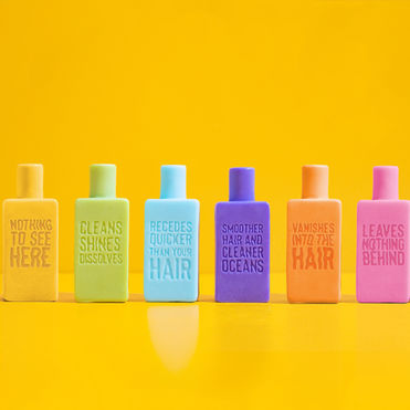 This 'bottle' redesign challenges shampoo packaging