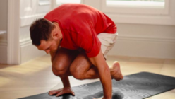 Lululemon's sensory yoga mat optimises alignment