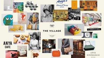 Anya Hindmarch reinvigorates retail with experiential village