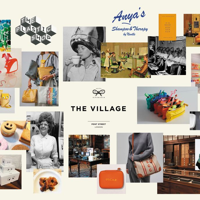 The Village by Anya Hindmarch, London