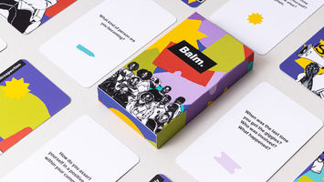 A design-led wellbeing kit for Black families