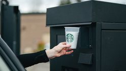 Starbucks' re-usable cup programme minimises waste