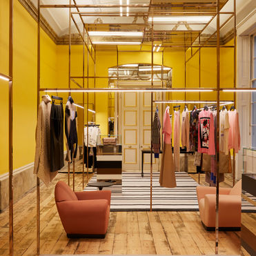 Browns' tech-driven store augments luxury retail