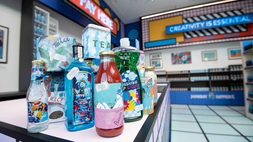 The Design Museum in collaboration with Camille Walala and Bombay Sapphire, London