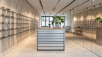Optiek Hons' inside-out store elevates optical retail
