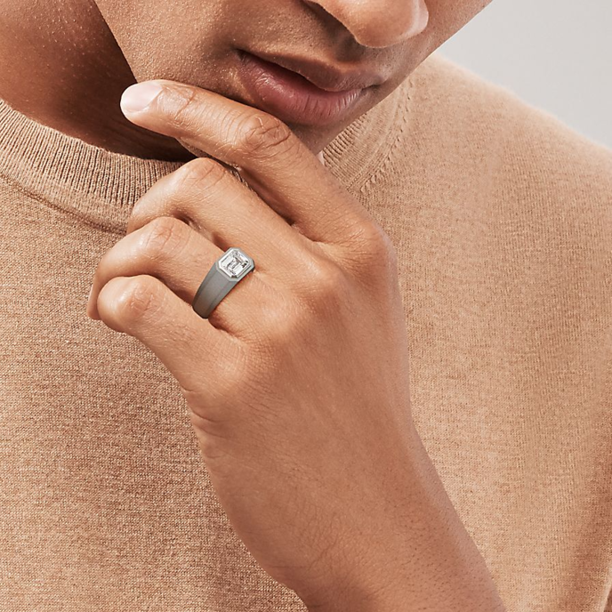 Engagement rings for men by Tiffany & Co, New York
