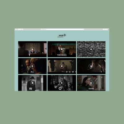 Mubi Remix by Pentagram